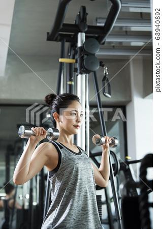체육관 여성 교육 68940892