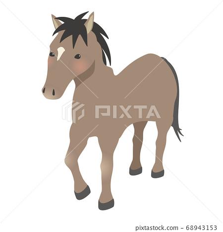 Zodiac horse 68943153