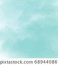 Blue Digital procreate Abstract background Illustration 68944086