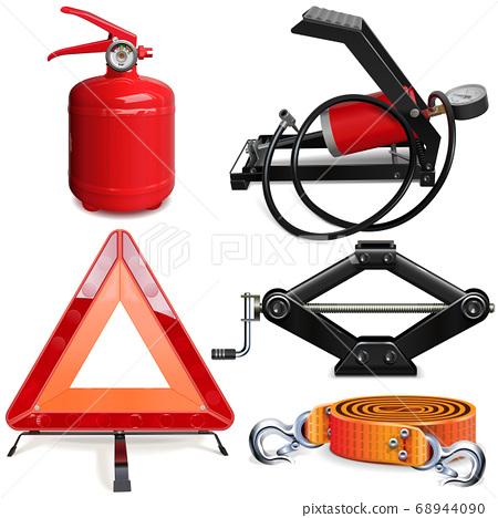 Vector Car Accessories Kit 68944090