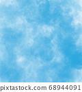 Blue cloud Digital procreate Abstract background Illustration 68944091