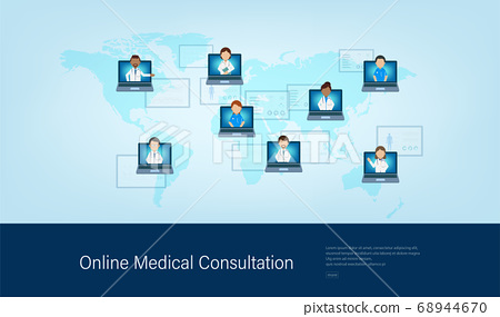 Online Doctor banner 68944670