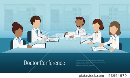 Doctor conference banner 68944679