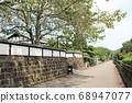 Samurai residence street in the castle town of Obi, a small Kyoto in Kyushu 68947077