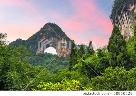 Moon Hill, Yangshuo, China 68950529