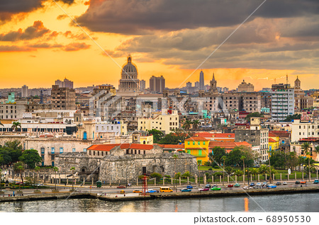 Havana, Cuba Town Skyline 68950530