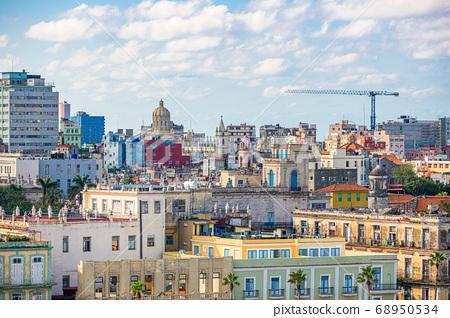 Havana, Cuba Town Skyline 68950534