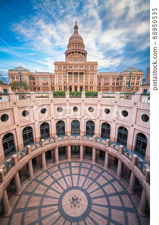 Austin, Texas, USA at the Texas State Capitol 68950535