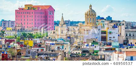 Havana, Cuba Town Skyline 68950537