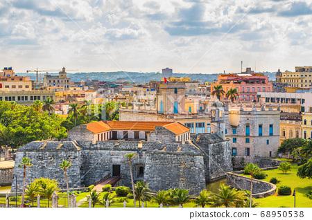 Havana, Cuba Town Skyline 68950538