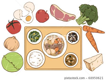 均衡的飲食 68950621