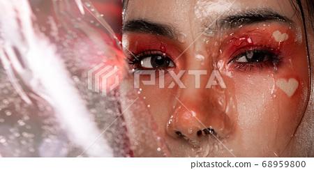 Fashion Portrait Profile Asian Woman fashion 68959800