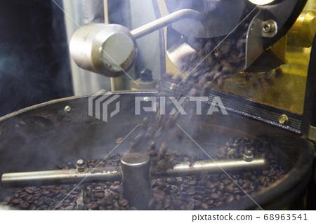 咖啡豆烘焙操作 68963541