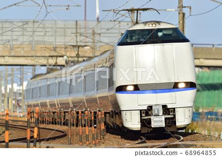 Hokuriku Main Line Kaga Kasama-Mikawa JR West Japan 683 series 4000 series (Kanazawa) Thunderbird 68964855