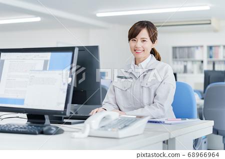 女商人年輕女子工作服 68966964