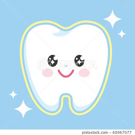 牙齒字符增白 68967077