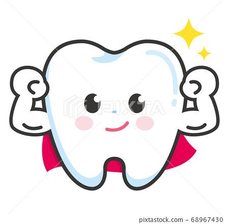 牙齿坚固 68967430