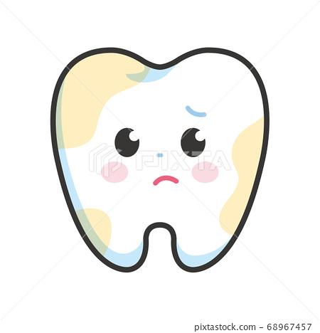 牙字符斑 68967457