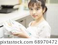 女性生活家務洗衣店 68970472