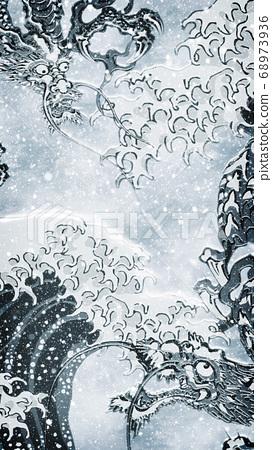 神奈川縣沿海和柳市冬季版本 68973936