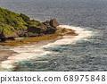 Beautiful coastline of Okinawa island in Japan 68975848
