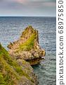 Beautiful coastline of Okinawa island in Japan 68975850