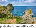 Beautiful coastline of Okinawa island in Japan 68975853
