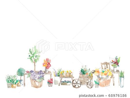 花店,花壇和室內裝飾 68976186
