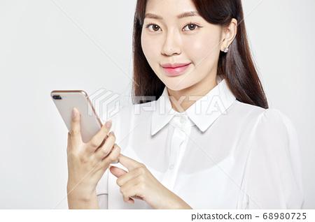 젊은여자,비즈니스,커리어우먼,비즈니스우먼 68980725