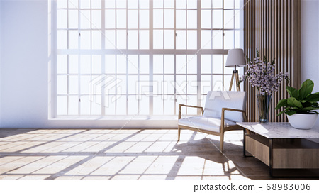 The decoration of the room in Japanese style 68983006