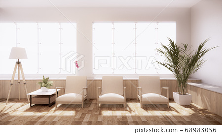 The decoration of the room in Japanese style 68983056