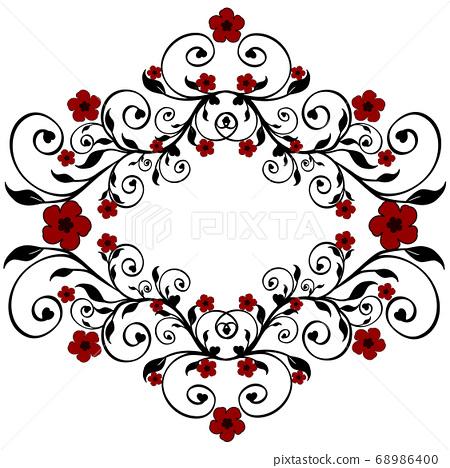flower ornament 68986400