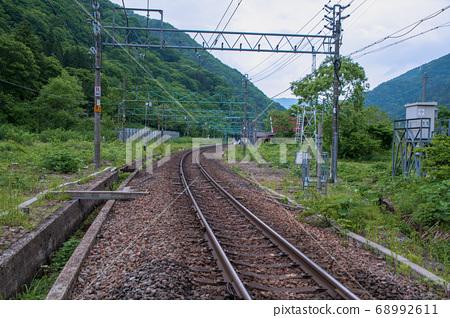從群馬縣水上町土井鐵路道口到土井站上越線 68992611