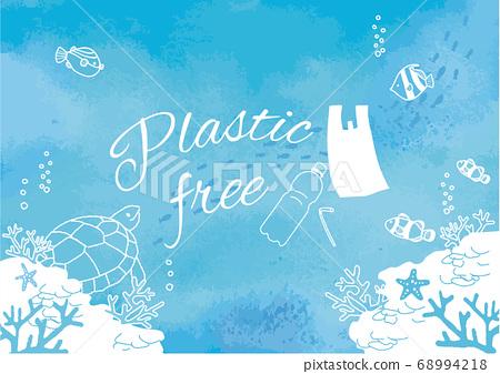 塑料免費海報 68994218