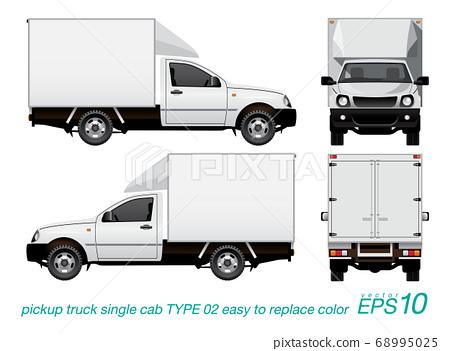 cargo pickup truck 68995025