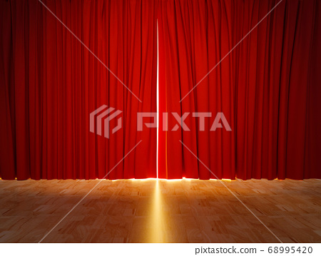 red curtain 68995420