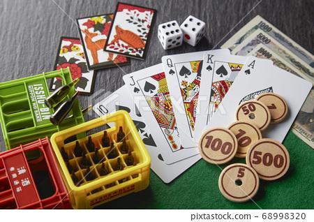 遊戲Hanafuda撲克依賴賭博依賴酒精 68998320