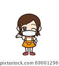 女孩介紹面具 69001296