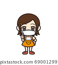 女孩好姿勢面具 69001299
