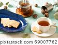 饼干和红茶下午茶时间刷新与森林图片2 69007762