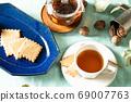 饼干和茶的下午茶时间刷新和森林形象 69007763