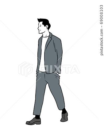 산책하는 남자 69008103