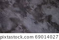 Abstract gray concrete wall, dirty wall with rough and grain surface, interior texture for background. 69014027