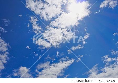 天空和雲彩 69026369