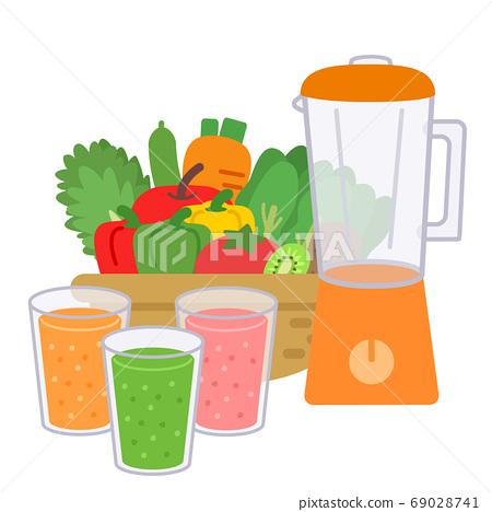 冰沙攪拌機蔬菜 69028741