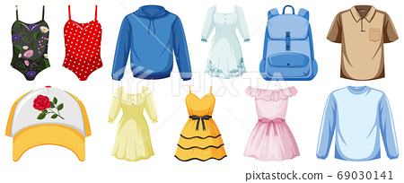 Set of costume objects 69030141
