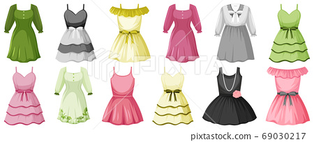 Set of costume objects 69030217