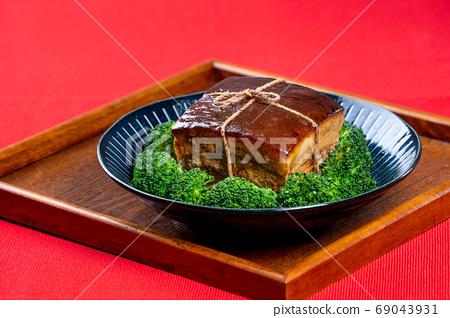 東坡肉 年菜 滷肉 控肉 魯肉 Dongpo Pork Braised Pork トンポーロー 69043931