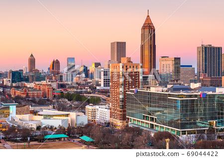Atlanta, Georgia, USA downtown skyline 69044422