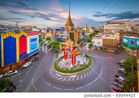 Bangkok, Thailand Chinatown 69044425